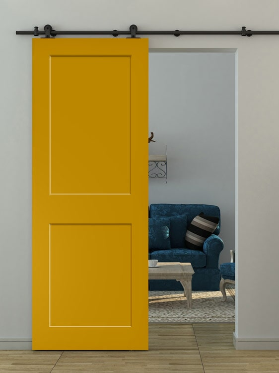 Sliding barn doors in Loma Linda, CA from Simple Touch Interior Solutions