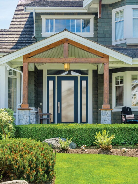 Glass front doors in San Bernardino, CA from Simple Touch Interior Solutions