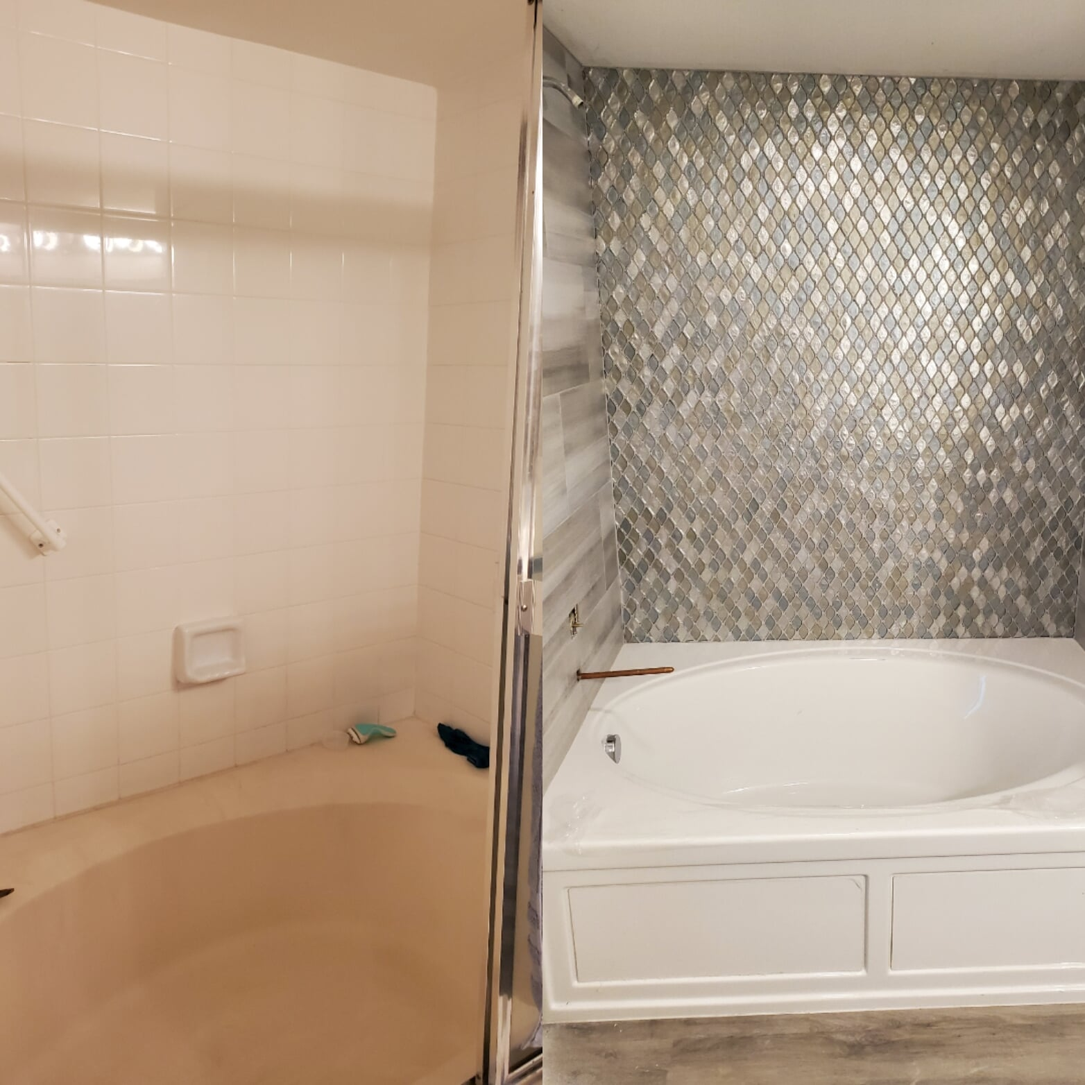 Bathroom renovation Hutchinson island before and after2