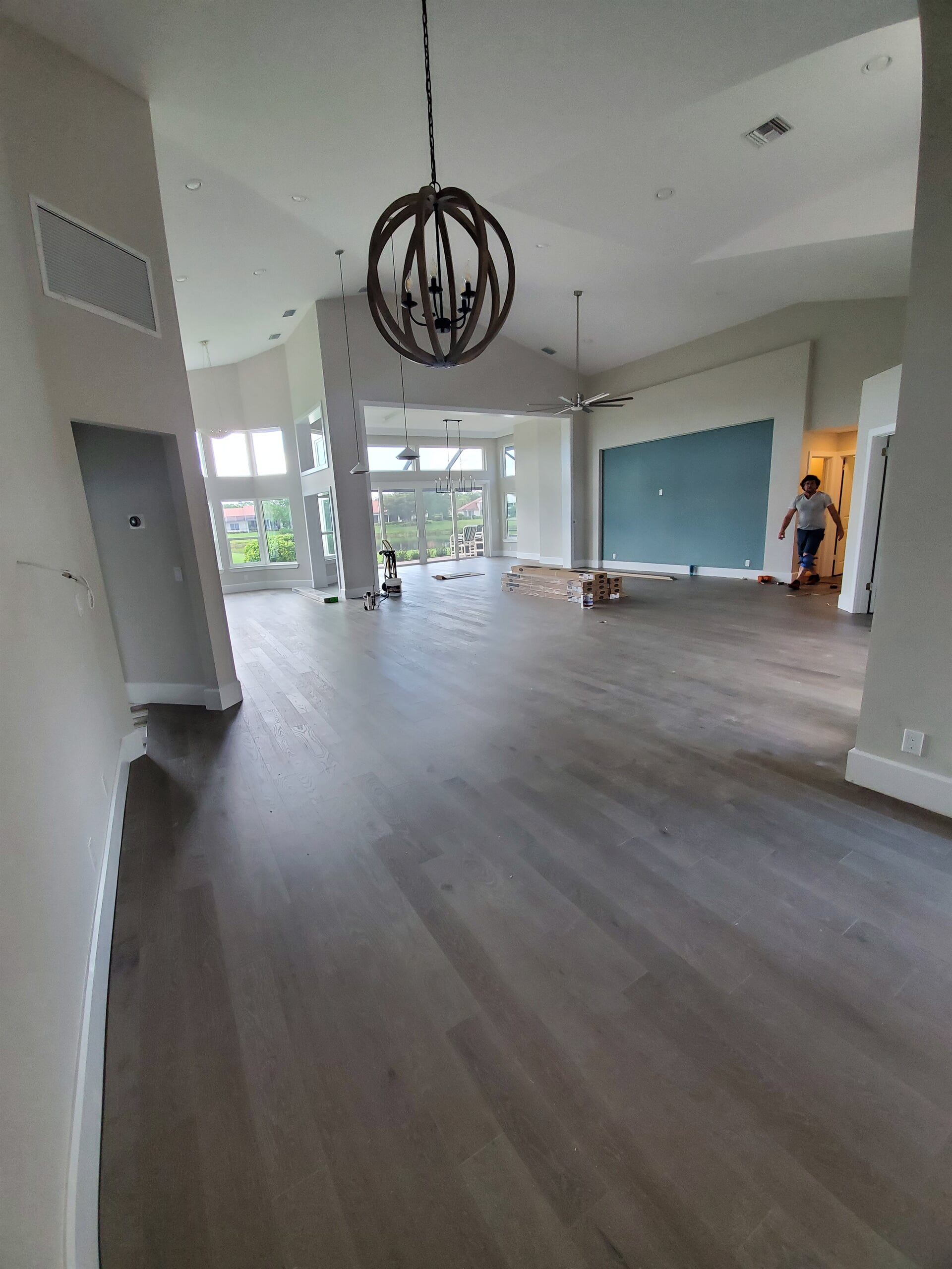 Mirage wood floors in Harbour ridge after