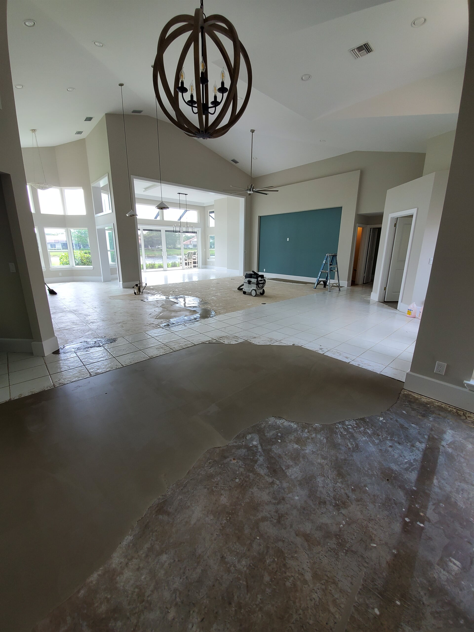 Mirage wood floors in Harbour ridge before