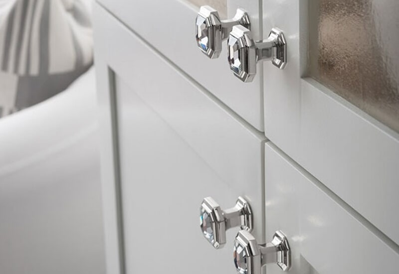 Classic knobs in Redlands, CA from Simple Touch Interior Solutions