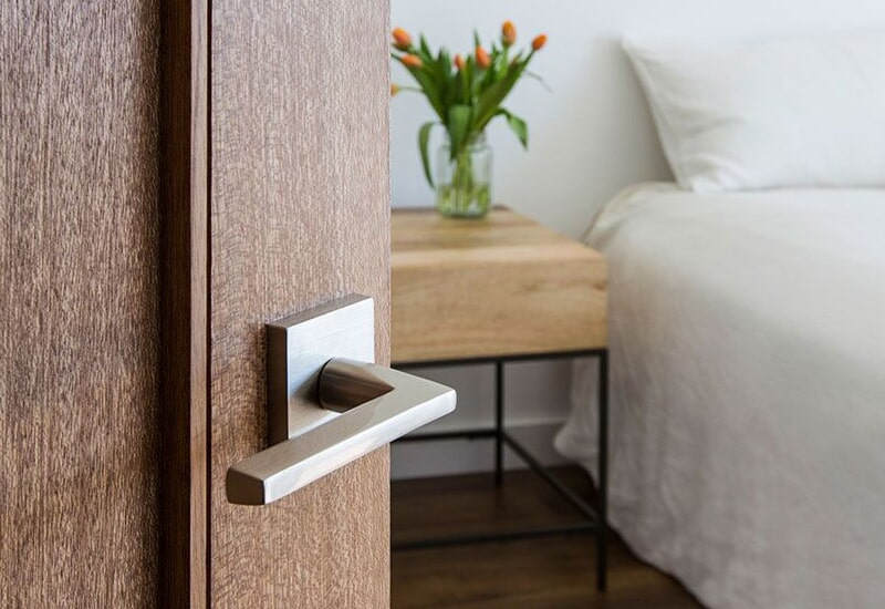 Modern door knobs in Yucaipa, CA from Simple Touch Interior Solutions