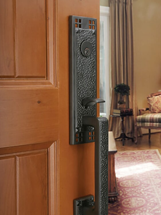 Front door knobs in Redlands, CA from Simple Touch Interior Solutions