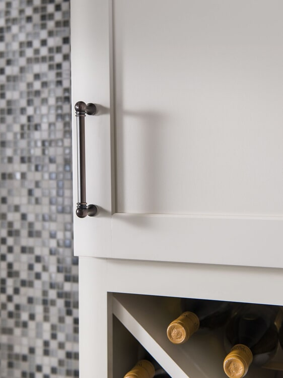 Rustic cabinet hardware in Yucaipa, CA from Simple Touch Interior Solutions