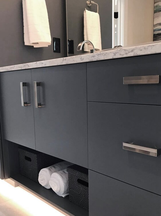 Vanity hardware in Highland, CA from Simple Touch Interior Solutions
