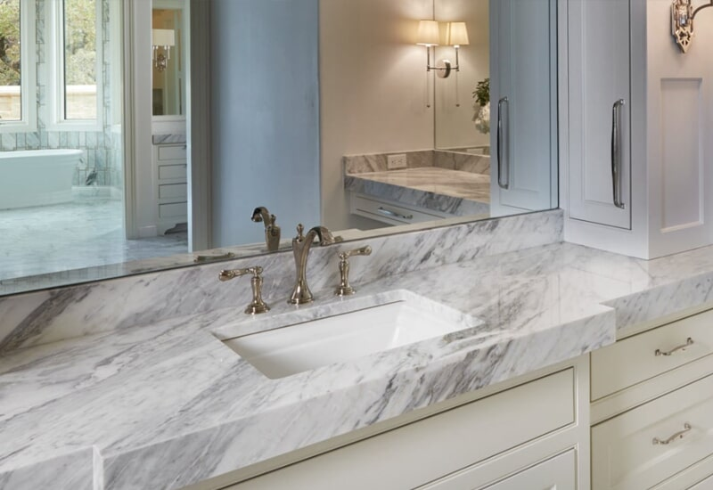 Marble countertops in Redlands, CA from Simple Touch Interior Solutions