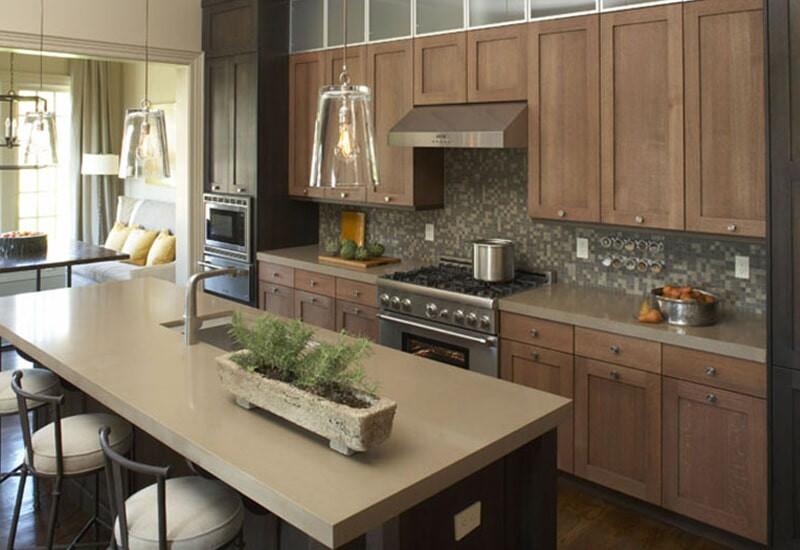 Solid surface countertops in Highland, CA from Simple Touch Interior Solutions