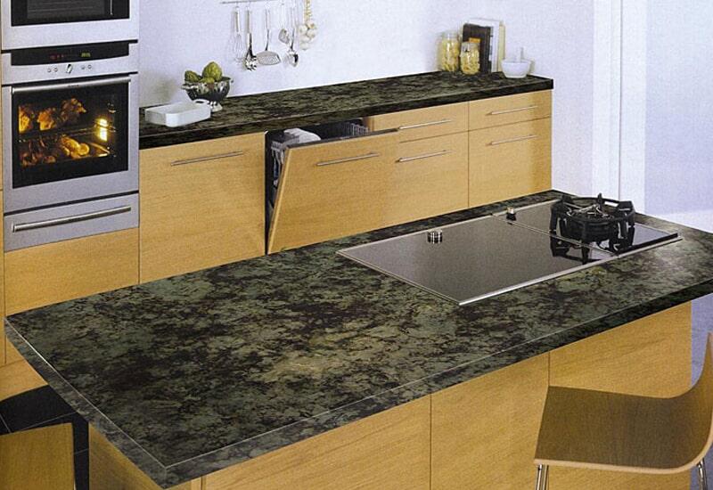 Dark granite countertops in Loma Linda, CA from Simple Touch Interior Solutions