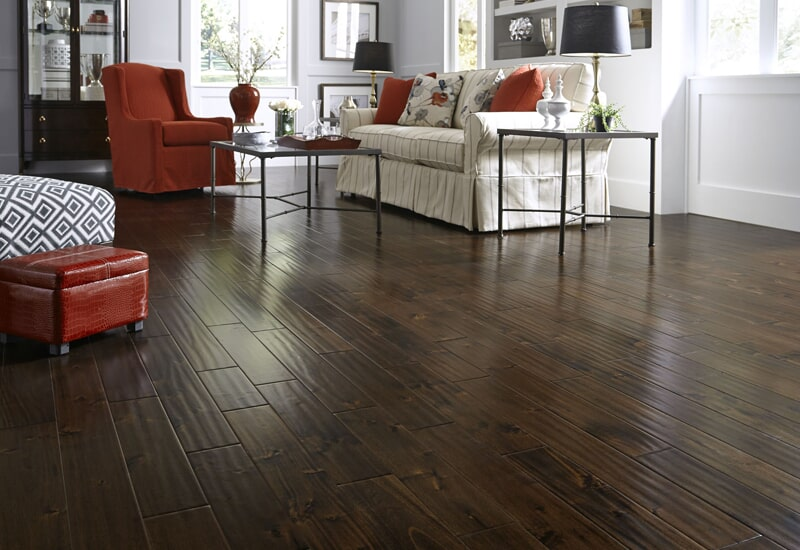 Engineered hardwood flooring in Yucaipa, CA from Simple Touch Interior Solutions