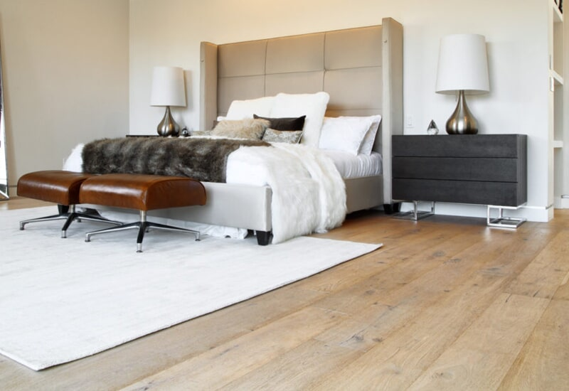 Solid hardwood flooring in Highland, CA from Simple Touch Interior Solutions