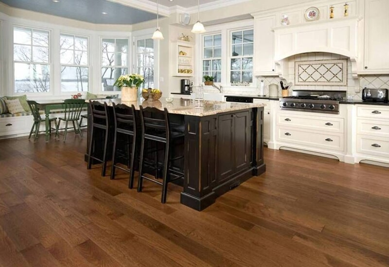 Modern kitchen flooring in Redlands, CA from Simple Touch Interior Solutions