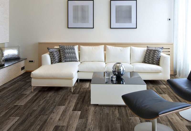 Natural wood look flooring in San Bernardino, CA from Simple Touch Interior Solutions