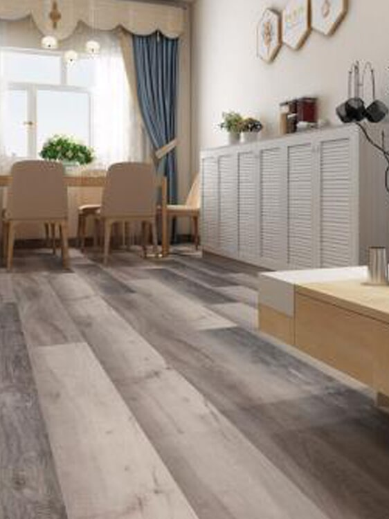 Wide plank wood floors in Yucaipa, CA from Simple Touch Interior Solutions