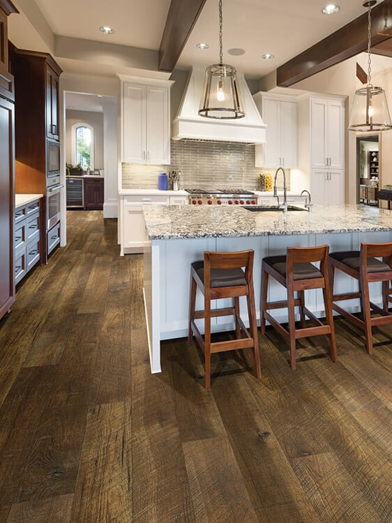 Textured wood floors in Loma Linda, CA from Simple Touch Interior Solutions