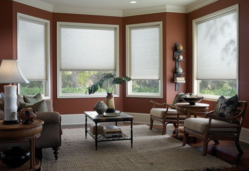 Classic window shades in Highland, CA from Simple Touch Interior Solutions