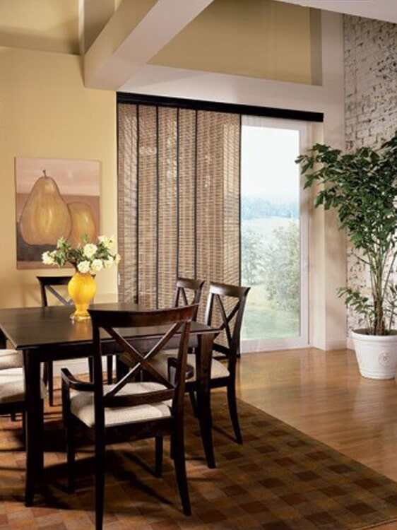 Vertical window shades in Redlands, CA from Simple Touch Interior Solutions