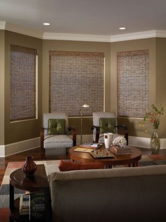 Bamboo window shades in Yucaipa, CA from Simple Touch Interior Solutions