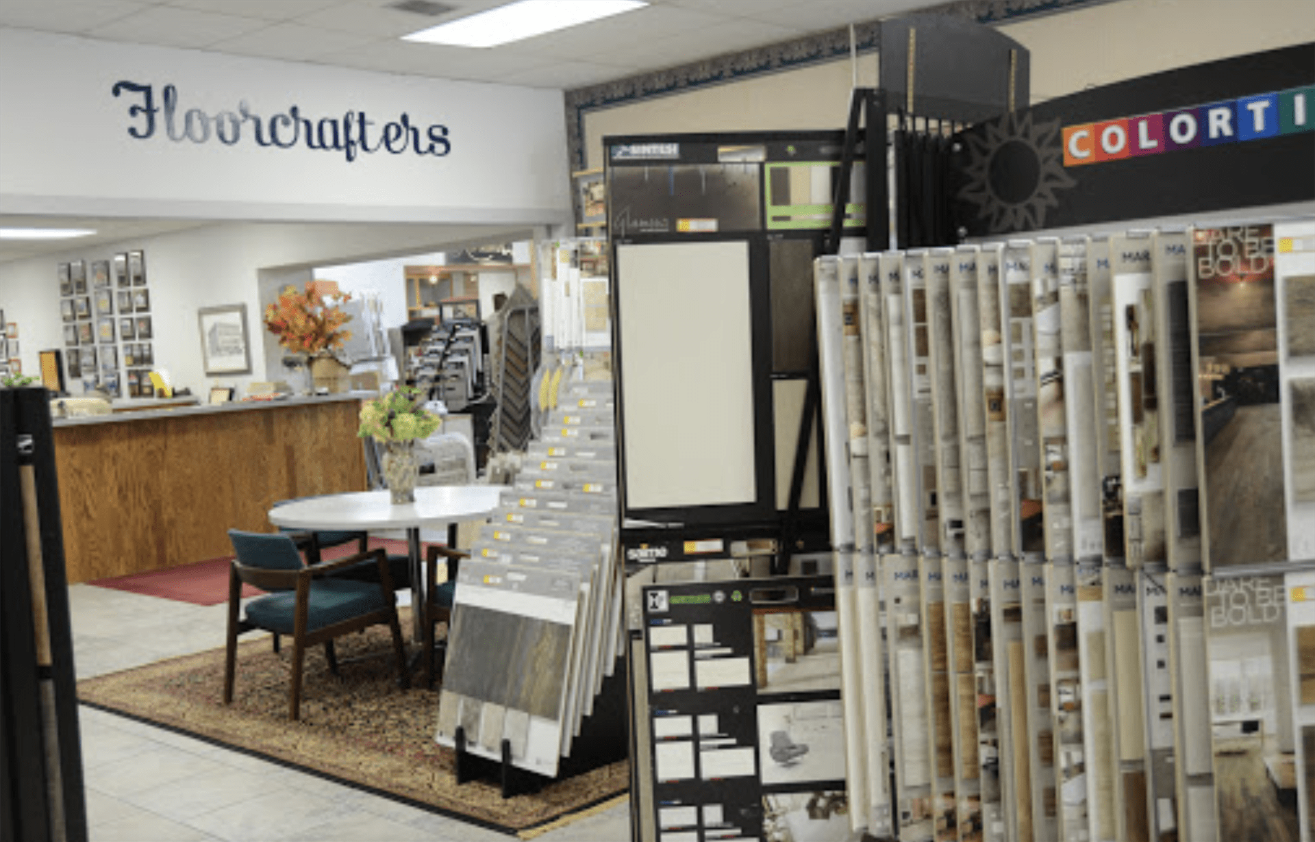 Floorcrafters - Moline showroom in Rock Island, IL