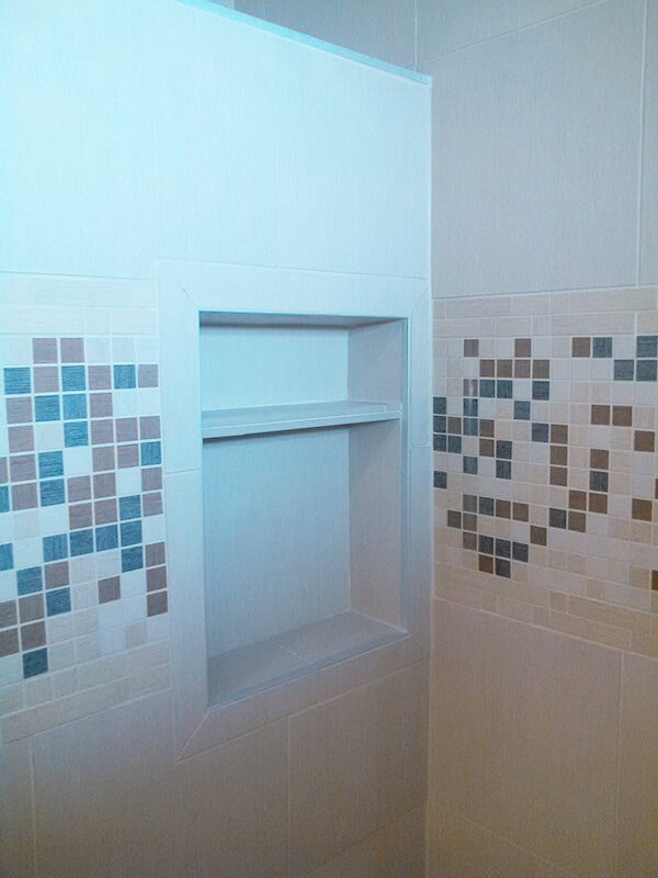Shower tiles from Floorcrafters - Moline in East Moline, IL