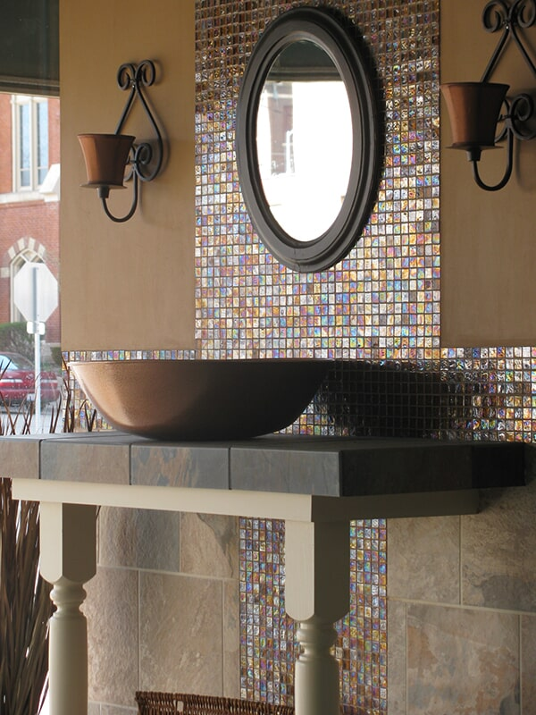 Glass tile from Floorcrafters - Moline in East Moline, IL