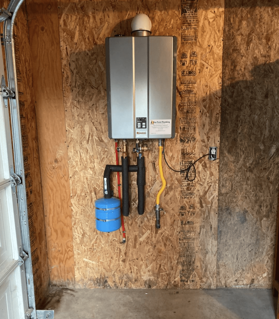 tankless water-heater