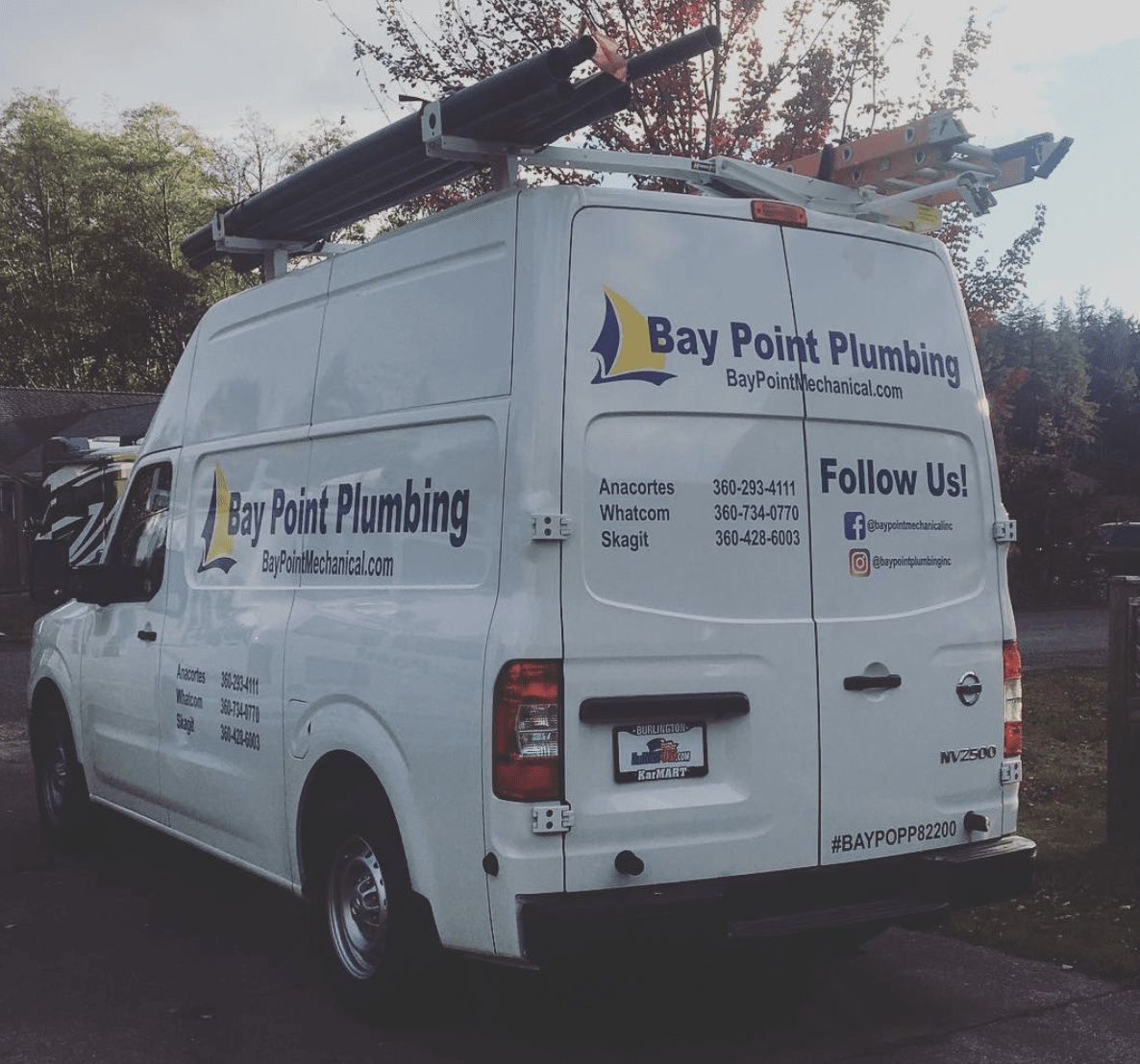 Bay Point Plumbing van