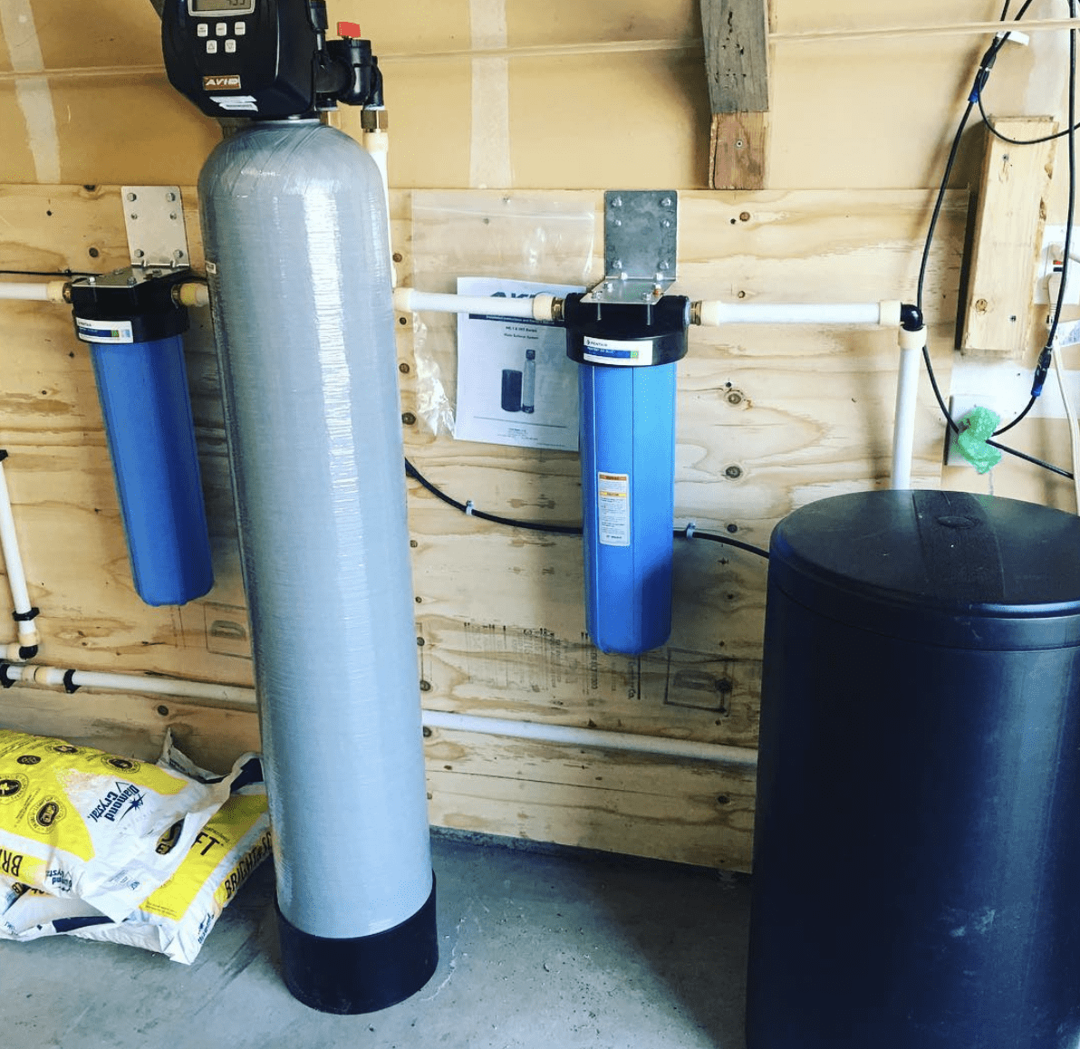 Water Filtration Installation system