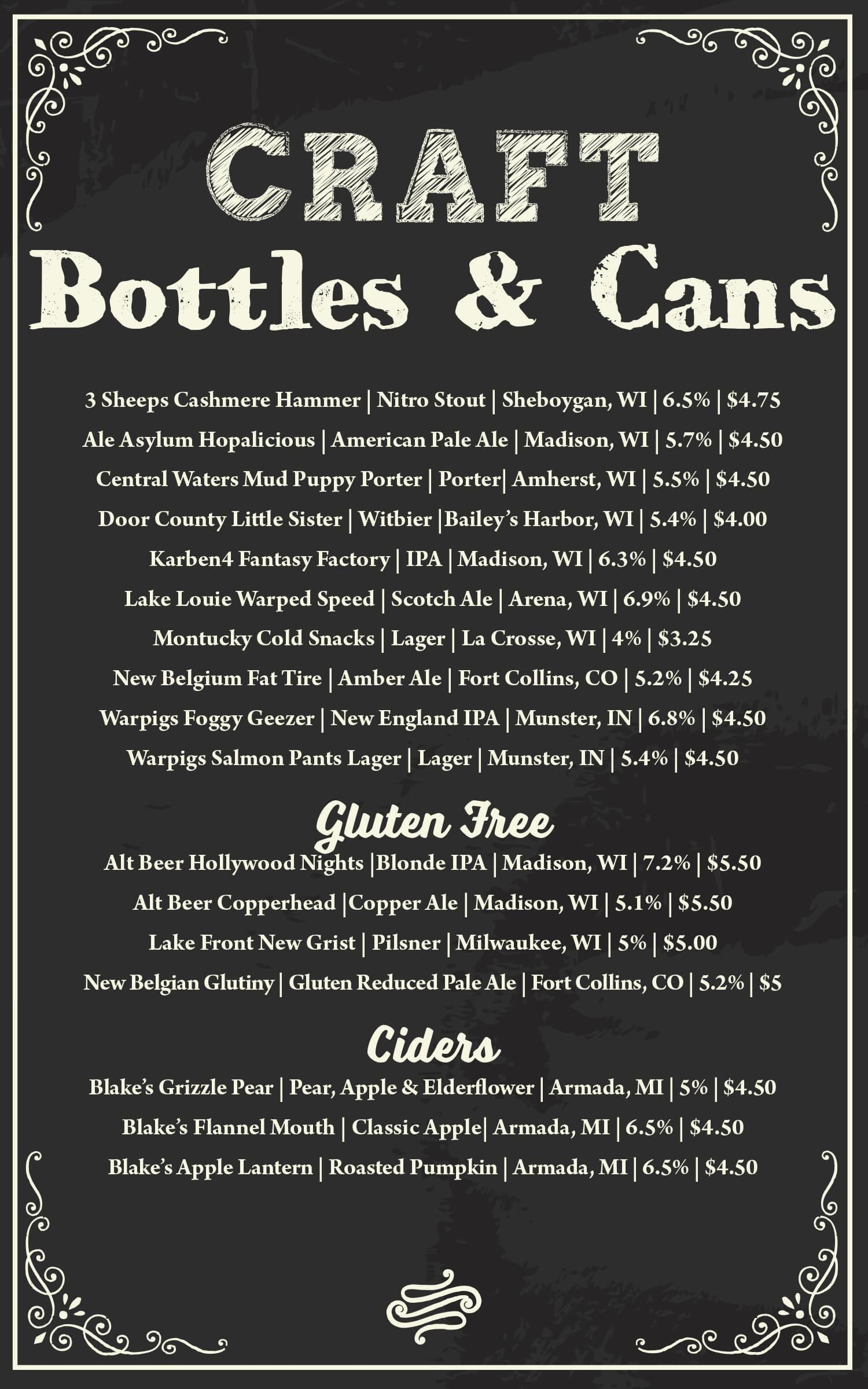 Craft Bottles & Cans