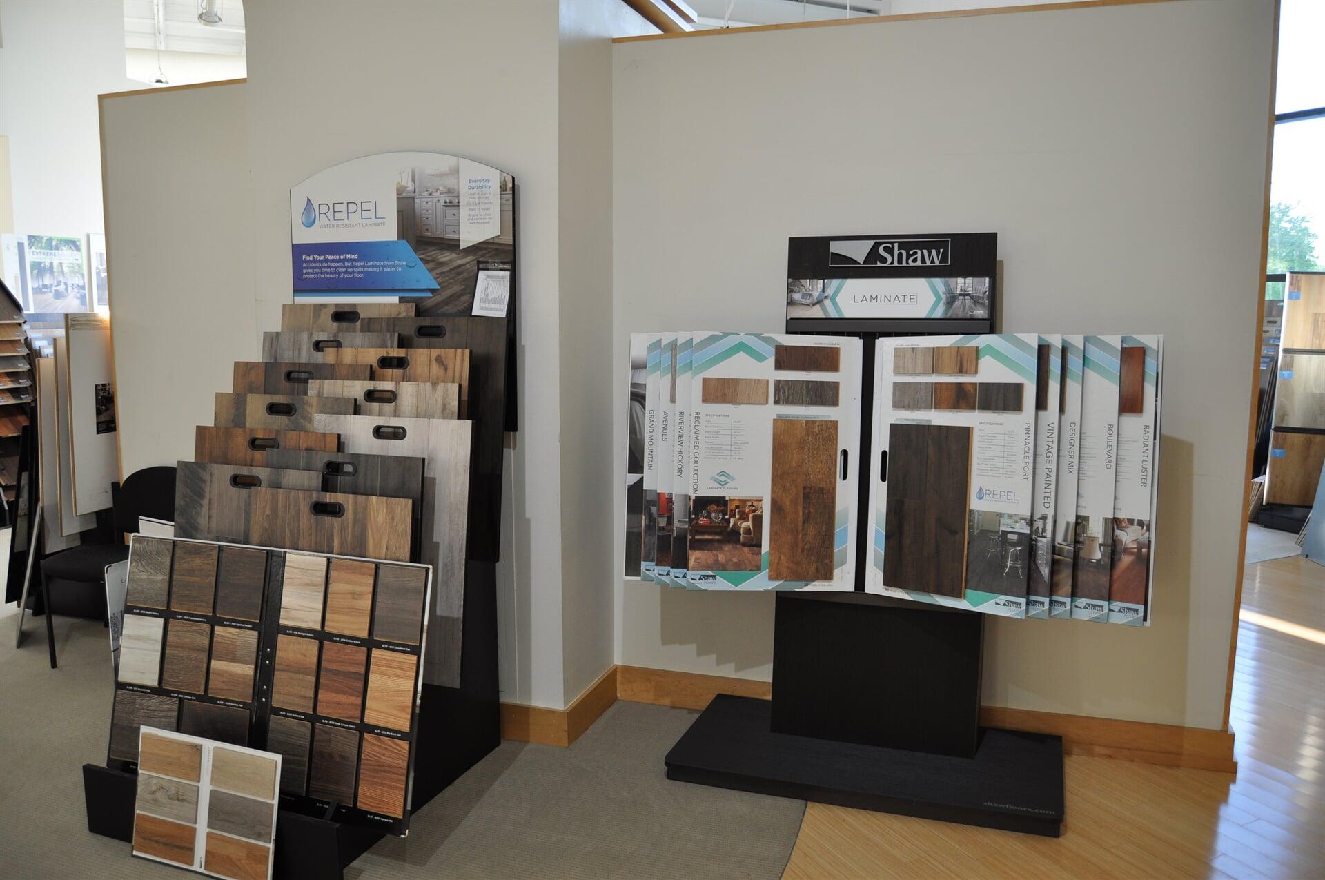 Shaw laminate flooring for your Nashville, TN home from Beckler's Flooring Center