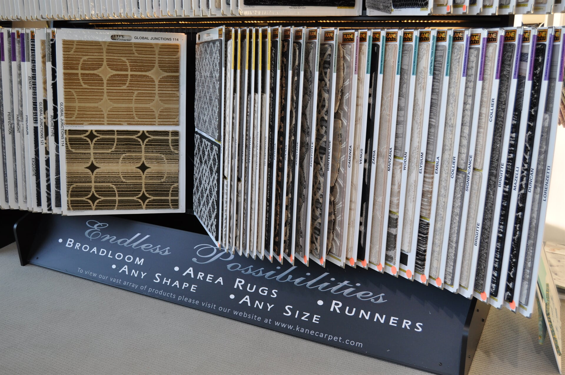 Endless Possibilities of carpet for your Rome, GA home from Beckler's Flooring Center