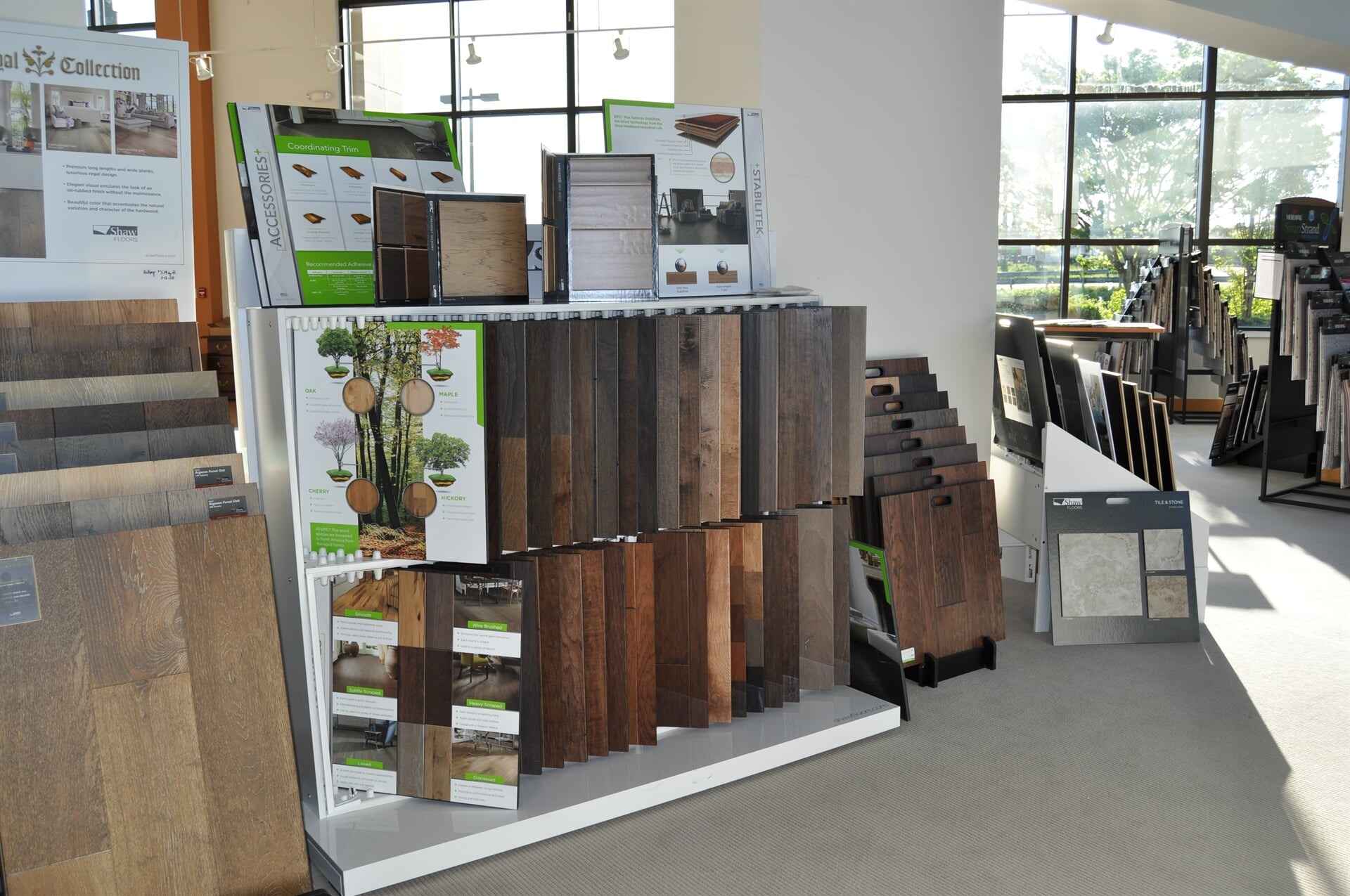 Natural wood flooring for your Rome, GA home from Beckler's Flooring Center