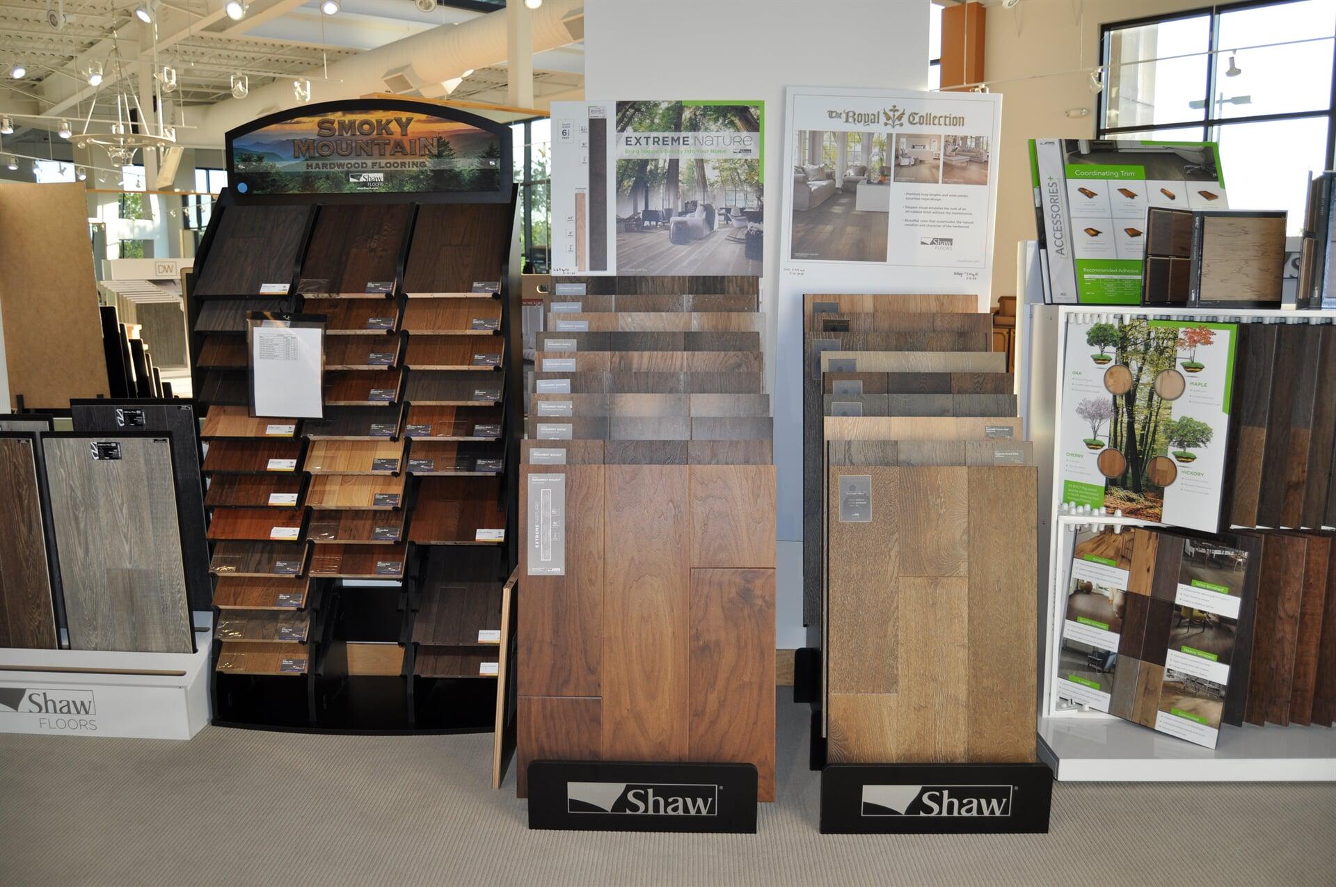 Shaw hardwood flooring for your Rome, GA home from Beckler's Flooring Center