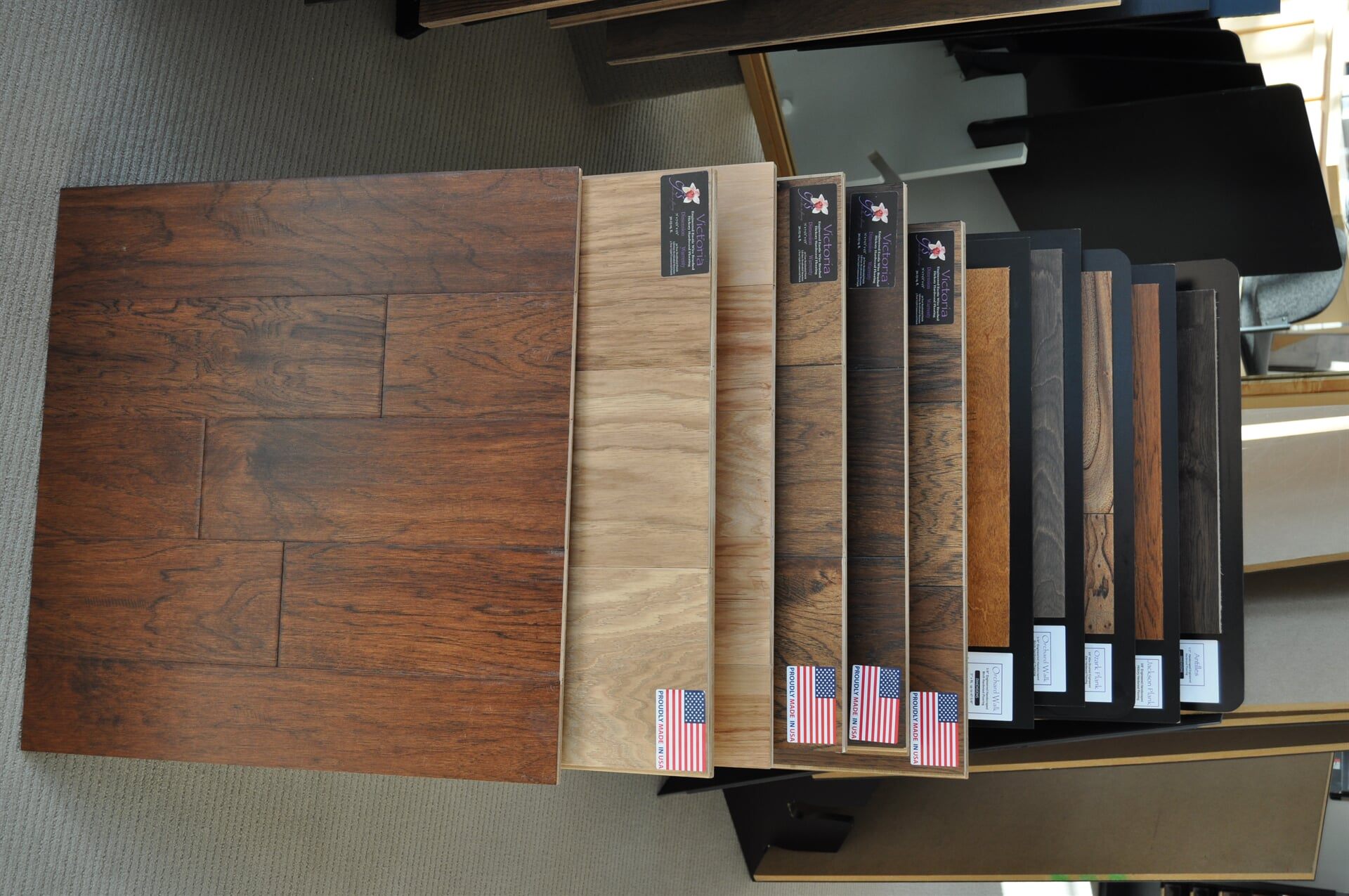 American made flooring for your Chattanooga, TN home from Beckler's Flooring Center