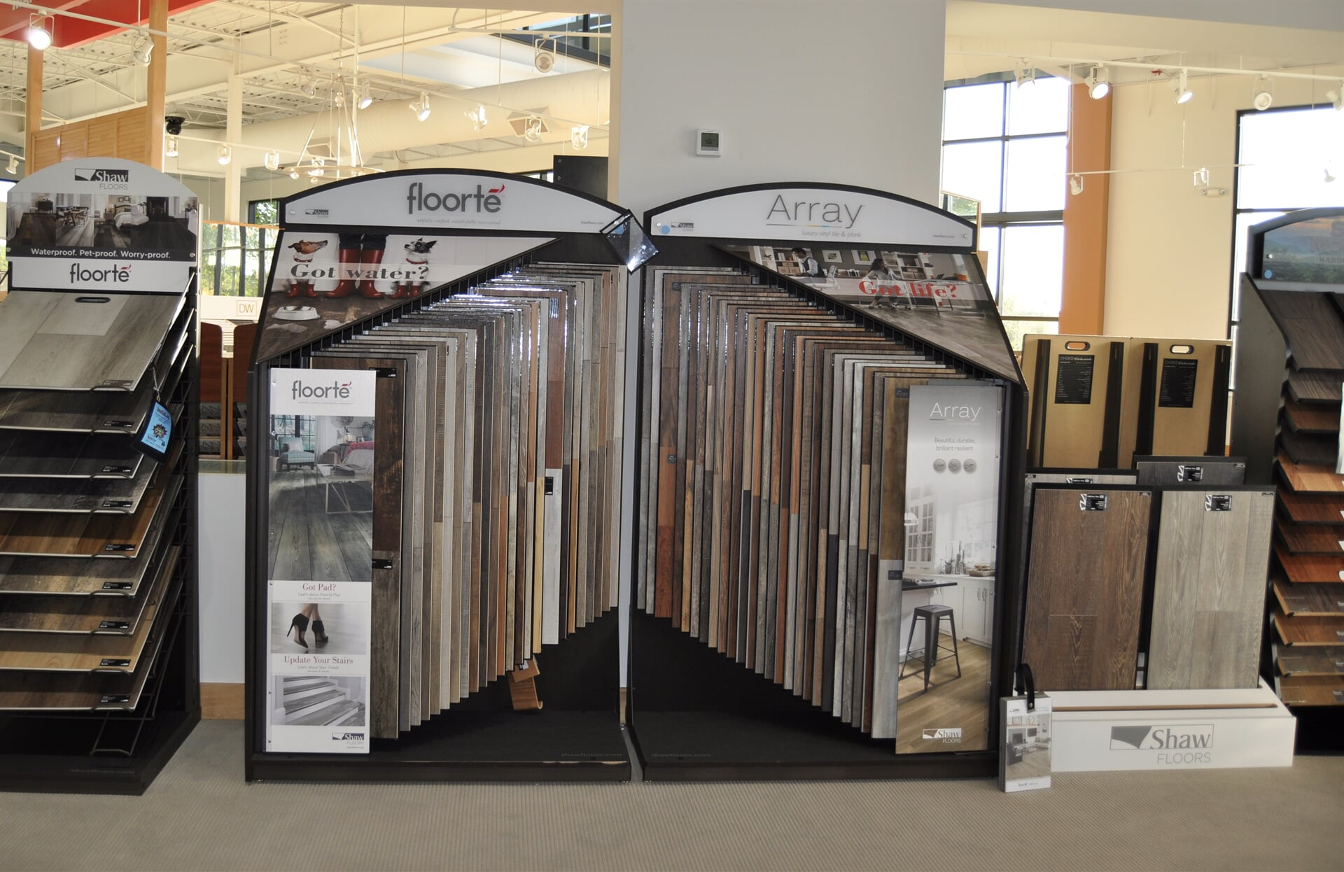 Shaw hard surface products for your Dalton, GA home from Beckler's Flooring Center