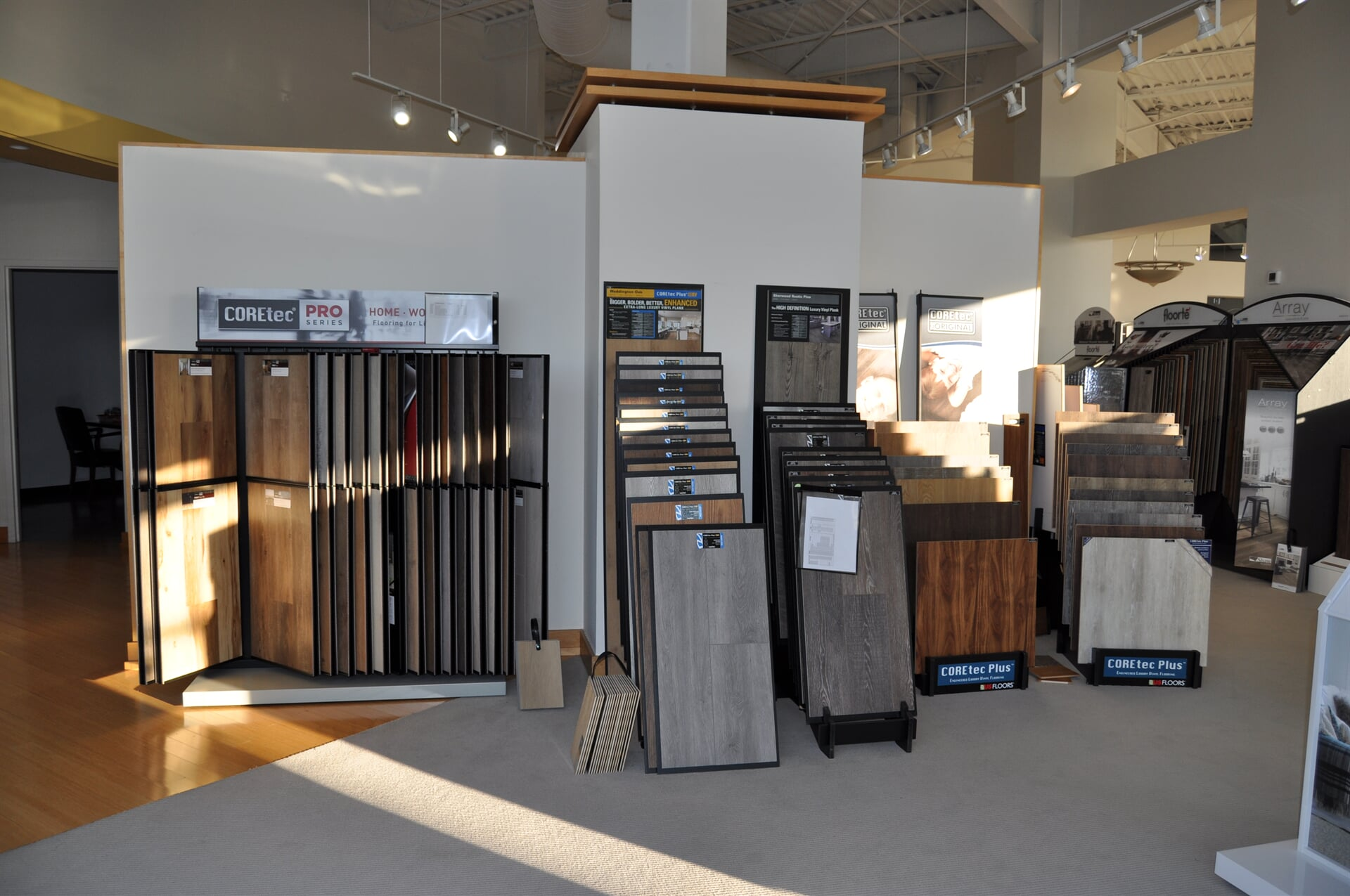 COREtec flooring for your Chattanooga, TN home from Beckler's Flooring Center