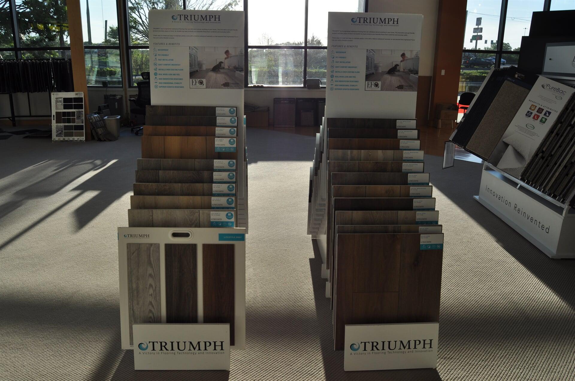 Triumph engineered flooring for your Atlanta, GA home from Beckler's Flooring Center