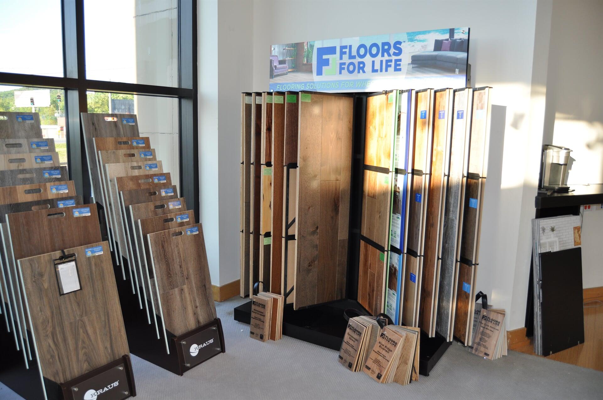Floors For Life for your Nashville, TN home from Beckler's Flooring Center