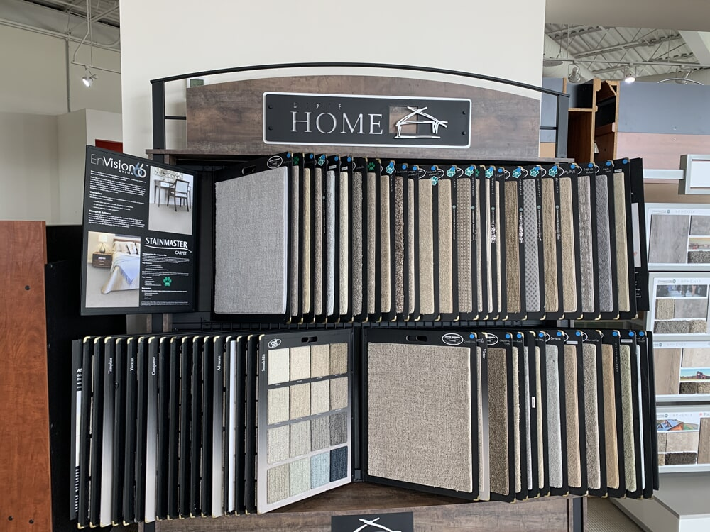 Dixie Home carpet for your Chattanooga, TN home from Beckler's Flooring Center