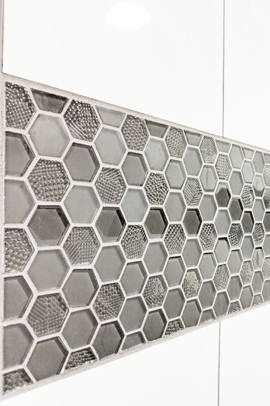Glass tile from Strait Floors in
