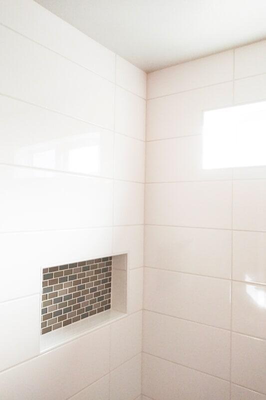 Shower tile from Strait Floors in