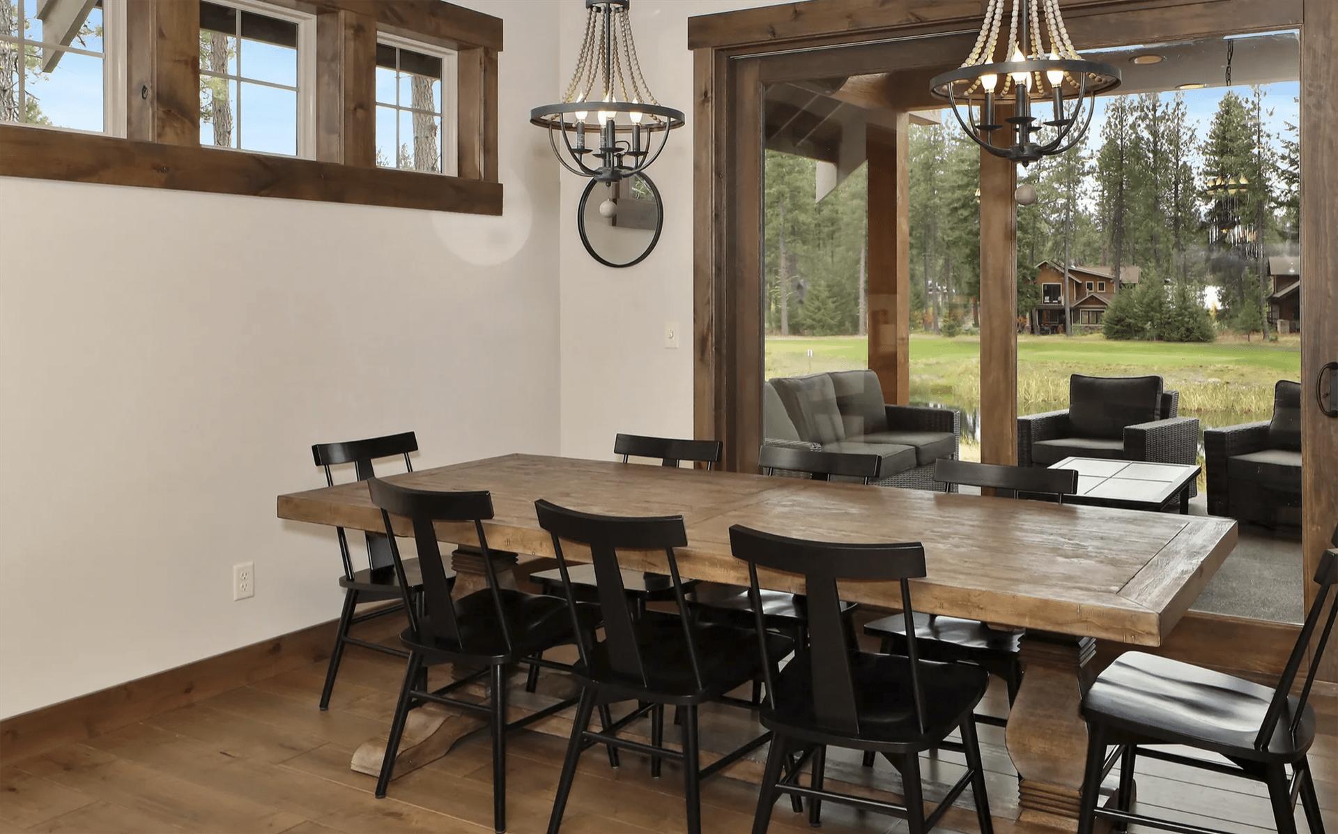 Luxury vinyl plank from HomePort Interiors in Lynden, WA