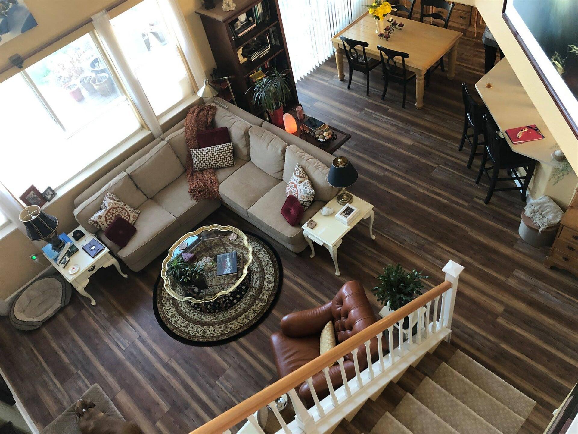Hardwood flooring from Carpet King Interiors in Fallon, NV