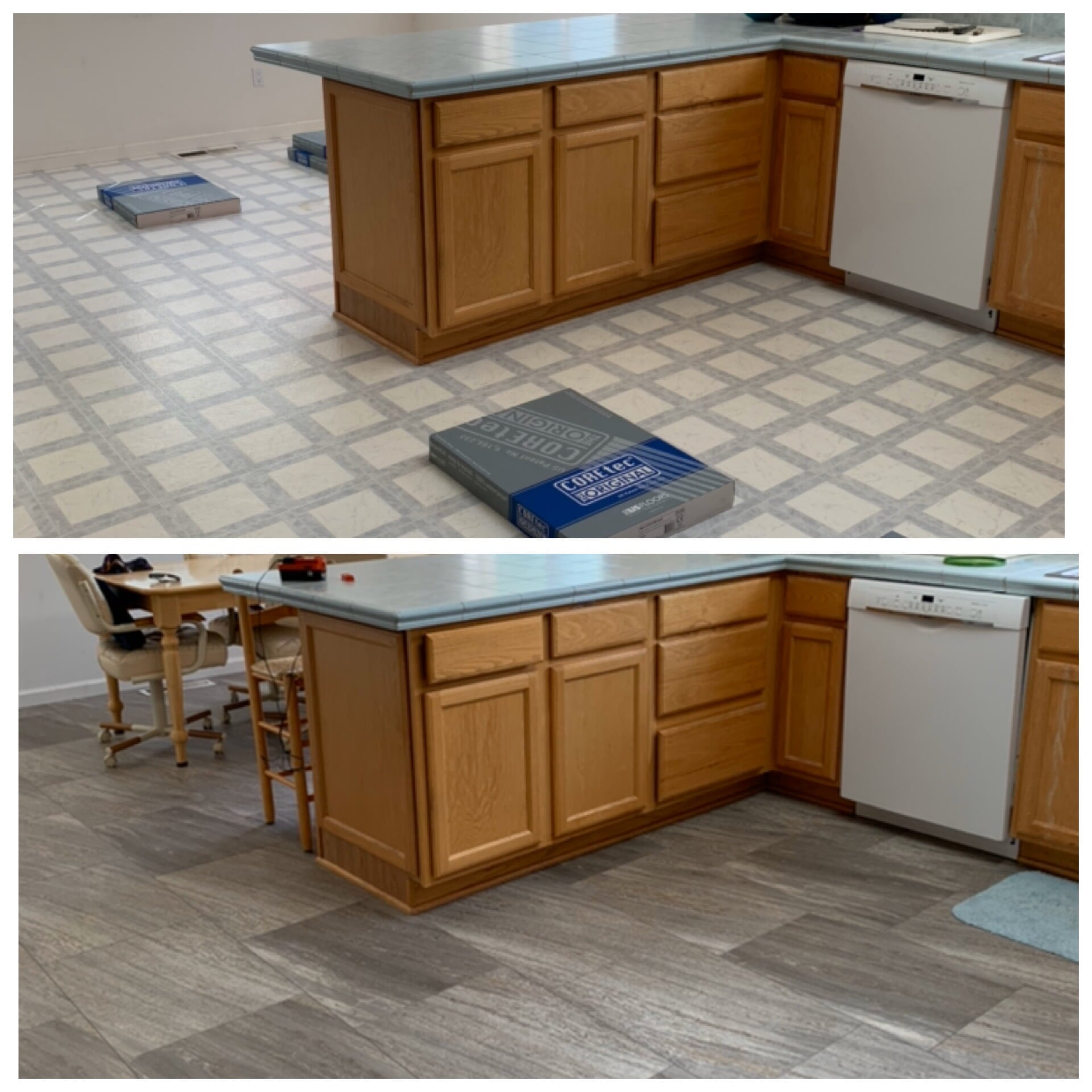 Tile flooring from Carpet King Interiors in Silver Springs, NV