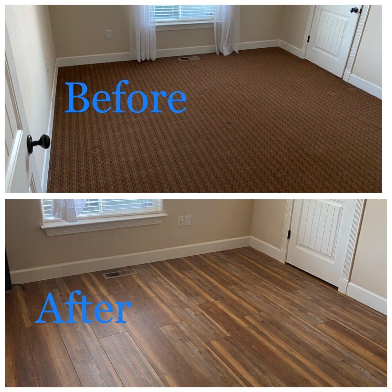 Hardwood flooring from Carpet King Interiors in Reno, NV