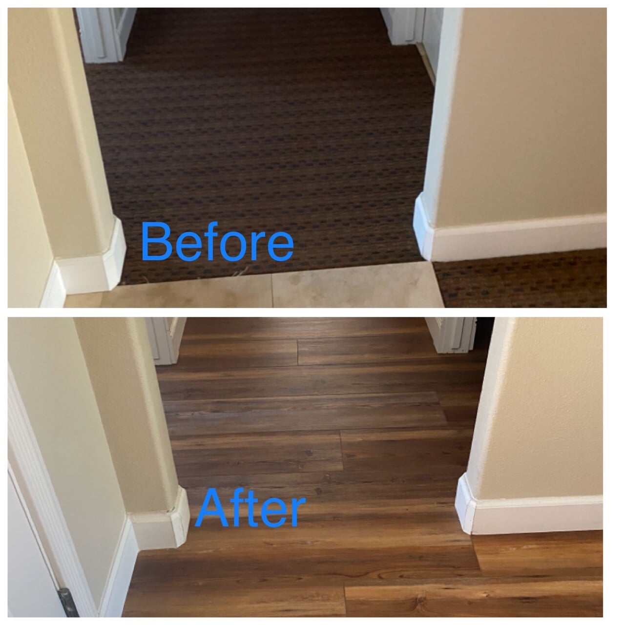 Hardwood flooring from Carpet King Interiors in Fernley, NV