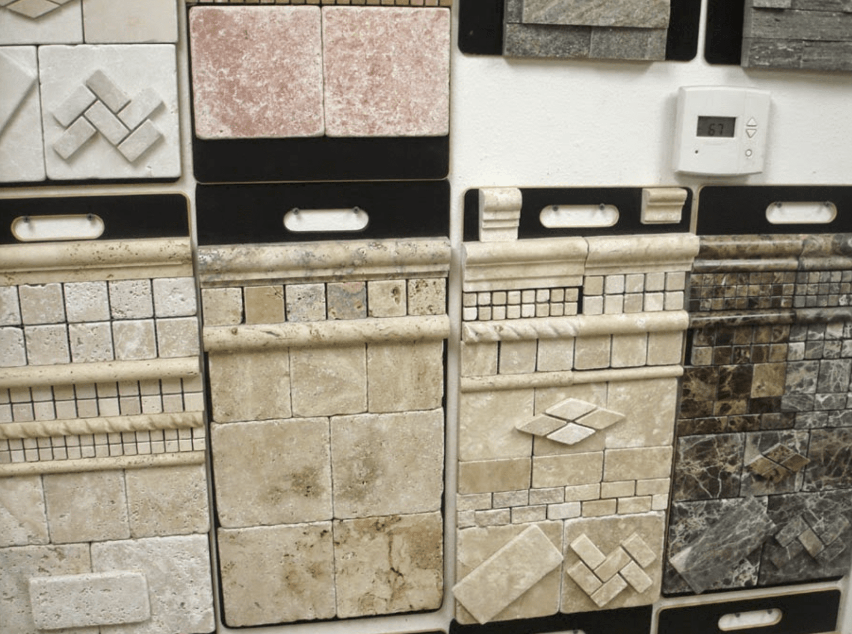 Tile accents for your Orange County, CA home from 55 Flooring