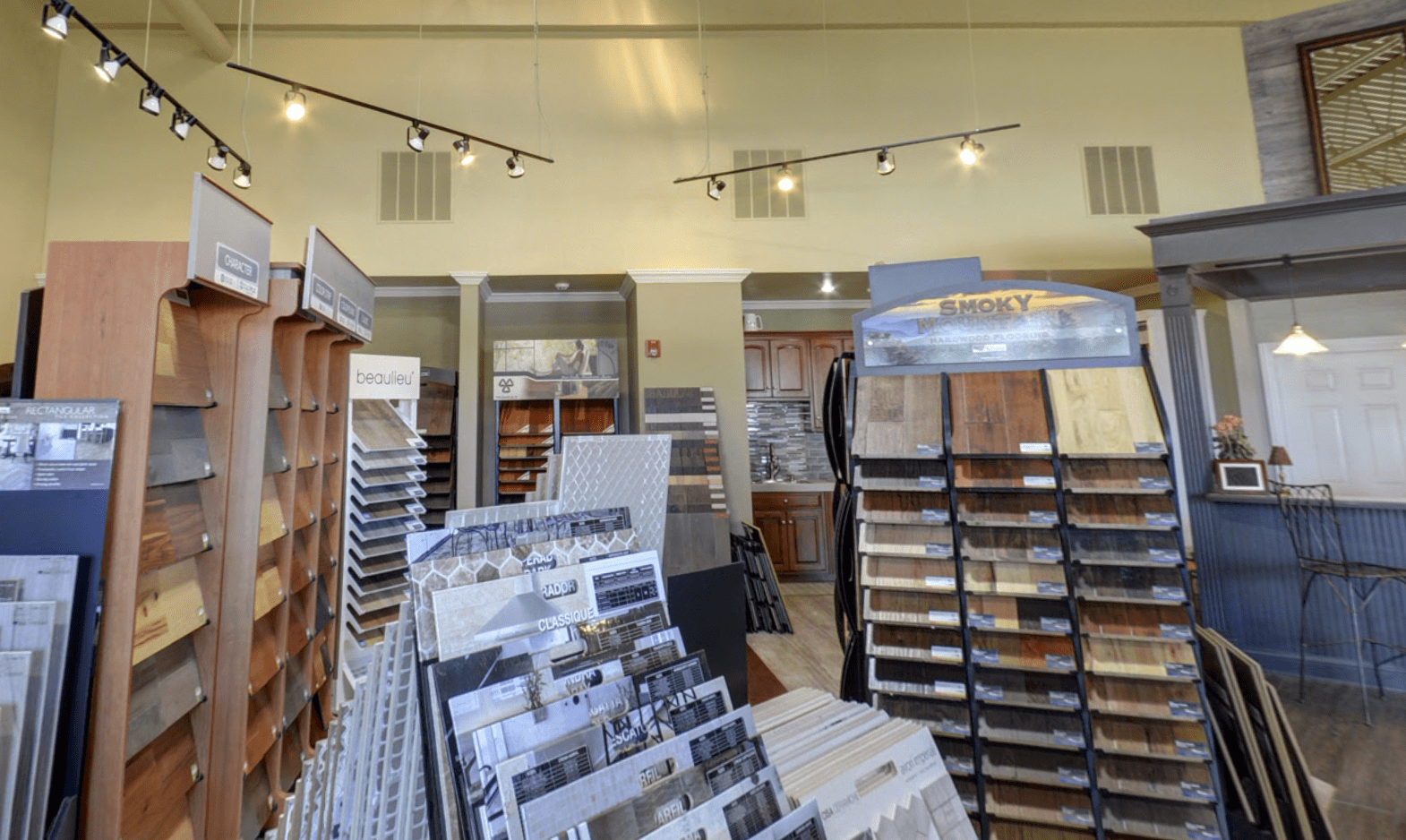 Superb Carpets, Inc. showroom in Carol Stream, IL