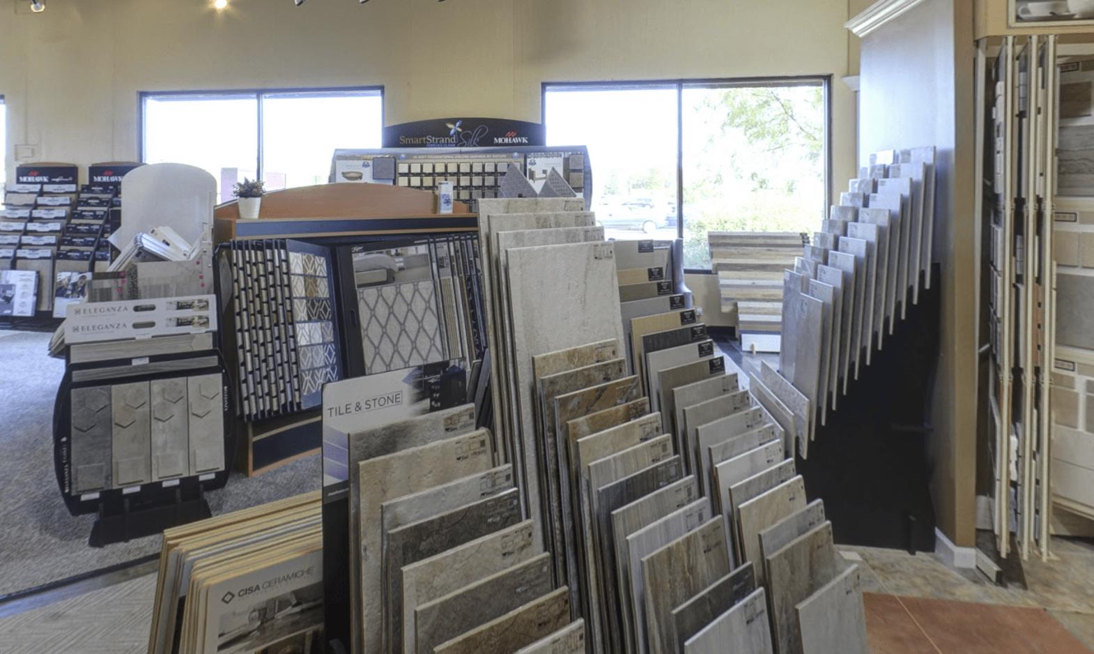 Superb Carpets, Inc. showroom in Glen Ellyn, IL
