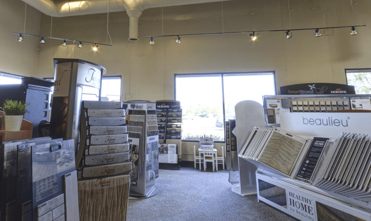 Superb Carpets, Inc. showroom in Wheaton, IL